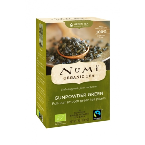 Lot de 6 Thés vert Gunpowder Green sachet 18 x 2g BIO