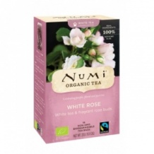 Lot de 6 Thés blanc White Rose sachet 16 x 2g BIO