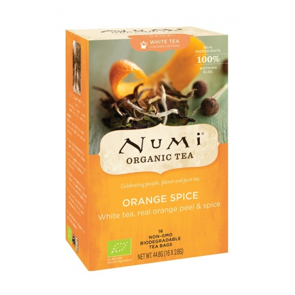 Lot de 6 Thés blanc Orange Spice sachet 16 x 2g BIO