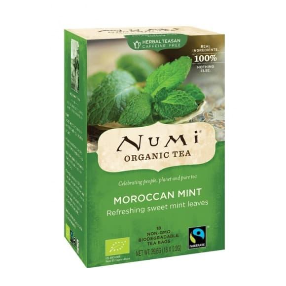 Lot de 6 Infusions Moroccan Mint sachet 18 x 2g BIO