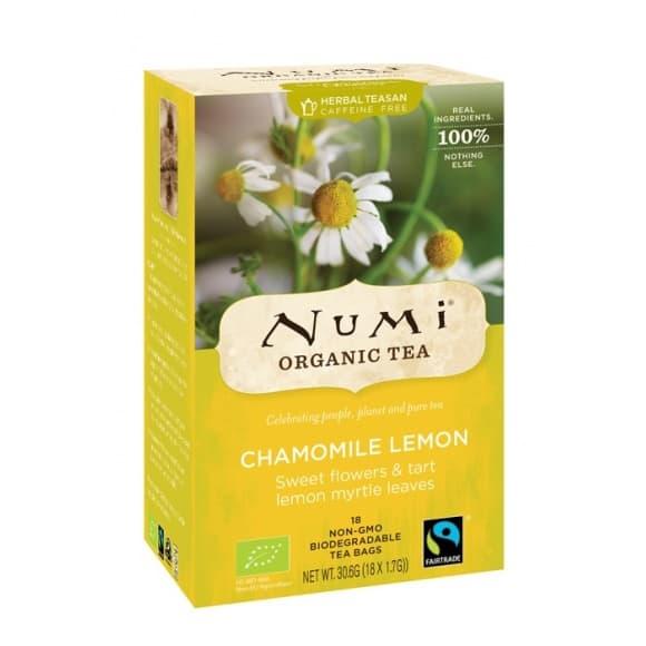 Lot de 6 Infusions Chamomille Lemon Sachet 18 x 2g BIO