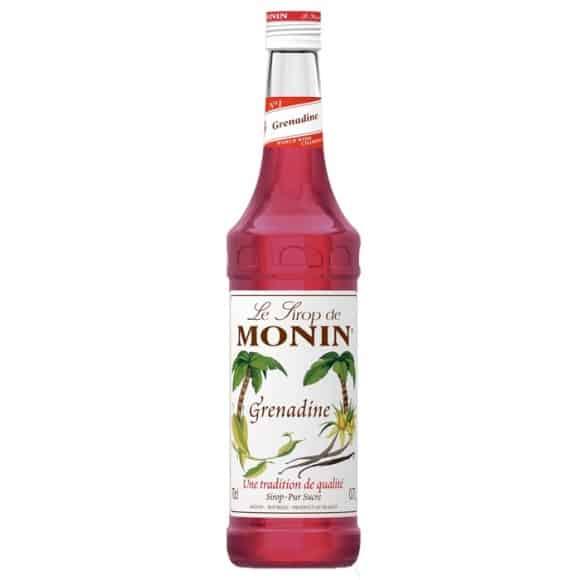 Lot de 6 Sirops Grenadine bouteille verre 700ml