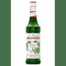 Lot de 6 Sirops Menthe Verte bouteille verre 700ml