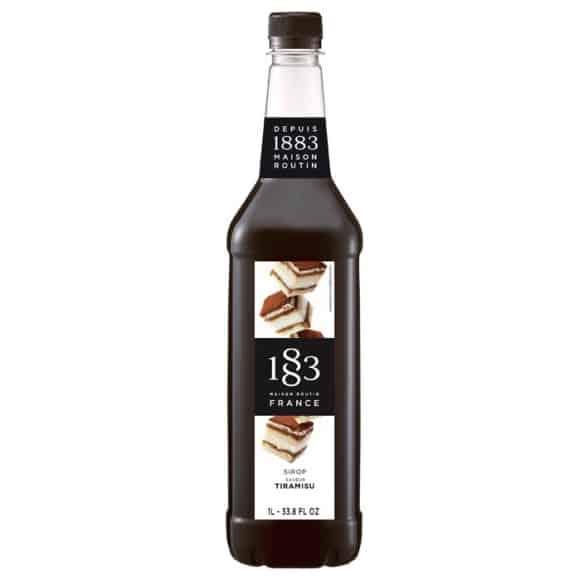 Sirop Tiramisu bouteille PET 1L