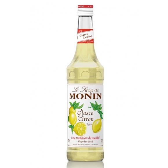 Lot de 6 Sirops Glasco Citron bouteille verre 700ml