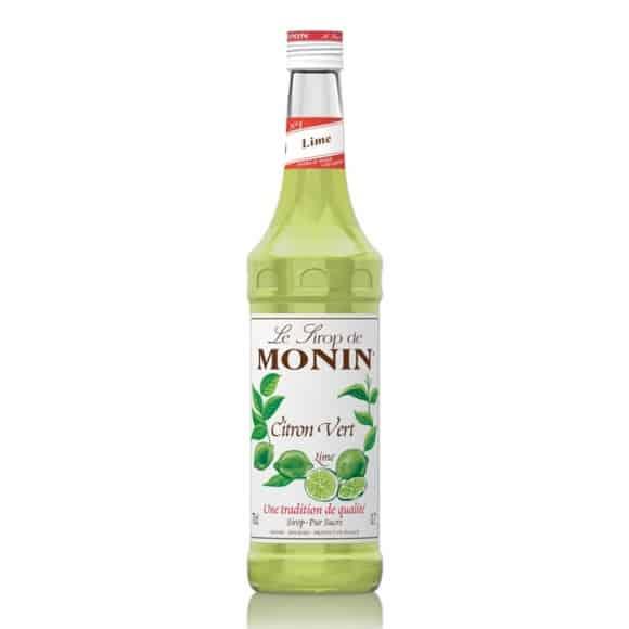 Lot de 6 Sirops Citron vert bouteille verre 700ml