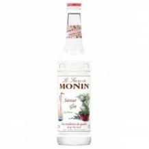 Lot de 6 Sirops Saveur Gin bouteille verre 700ml