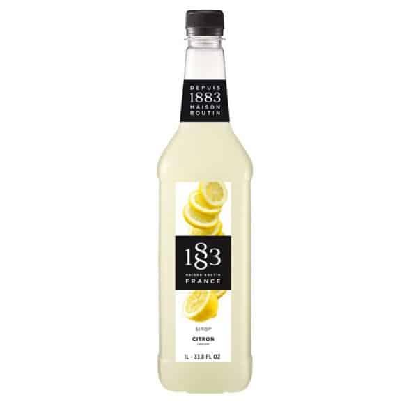 Sirop Citron Fort bouteille PET 1L
