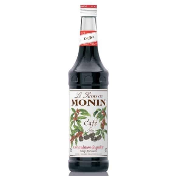 Monin Lot de 6 Sirops Café bouteille verre 700ml