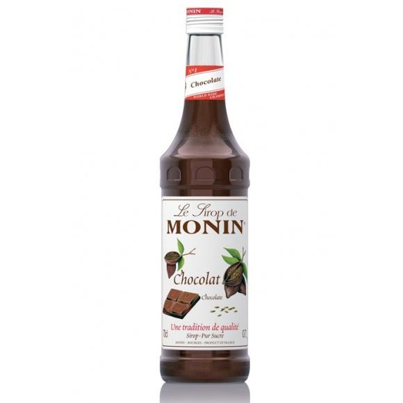 Monin Lot de 6 Sirops Chocolat bouteille verre 700ml