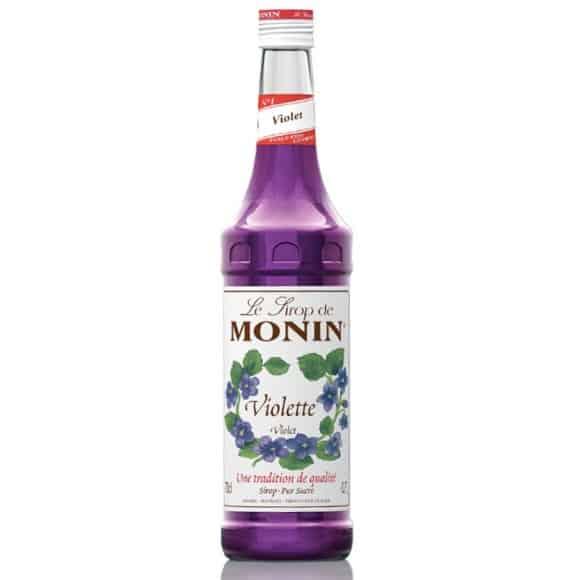 Lot de 6 Sirops Violette bouteille verre 700ml