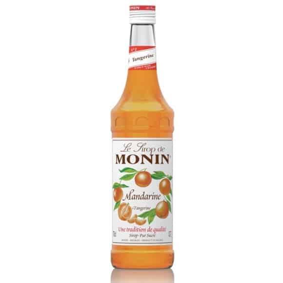 Lot de 6 Sirops Mandarine bouteille verre 700ml