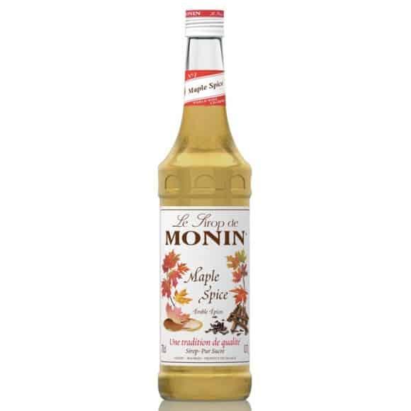 Monin Lot de 6 Sirops Mapple Spice bouteille verre 700ml