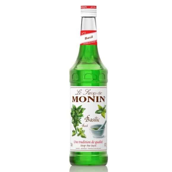 Lot de 6 Sirops Basilic bouteille verre 700ml