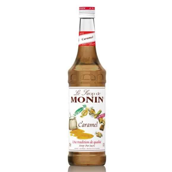 Monin Lot de 6 Sirops Caramel bouteille verre 700ml
