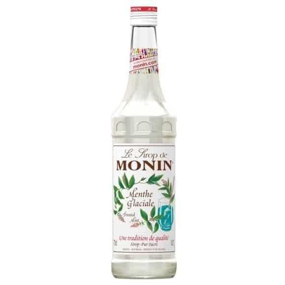 Lot de 6 Sirops Menthe glaciale bouteille verre 700ml