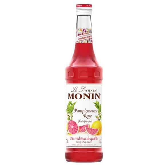 Lot de 6 Sirops Pamplemousse rose bouteille verre 700ml