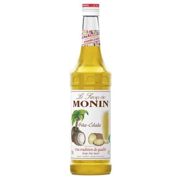 Lot de 6 Sirops Pina Colada bouteille verre 700ml