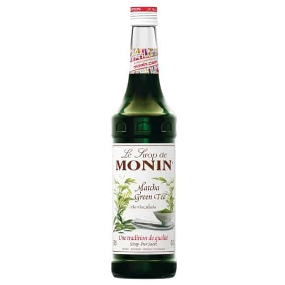 Lot de 6 Sirops Thé vert Matcha bouteille verre 700ml