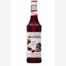 Lot de 6 Sirops Forêt Noire bouteille verre 700ml