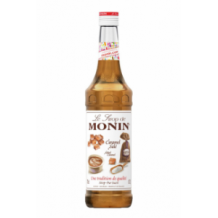 Monin Lot de 6 Sirops Caramel salé bouteille verre 700ml