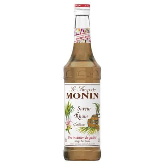 Lot de 6 Sirops Rhum bouteille verre 700ml