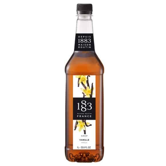 Lot de 6 Sirops Vanille bouteille PET 1L