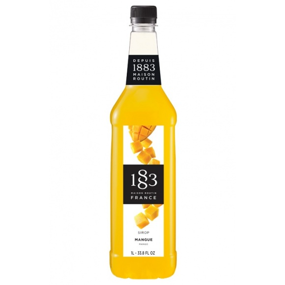 Lot de 6 Sirops Mangue bouteille PET 1L