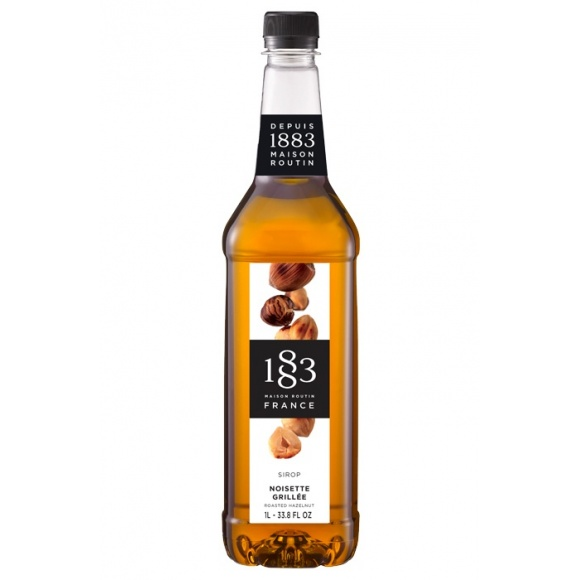 Lot de 6 Sirops Noisette Grillée bouteille PET 1L