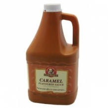 Lot de 6 sauces Caramel bidon 2.5kg