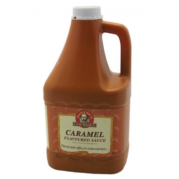Da Vinci Lot de 6 sauces Caramel bidon 2.5kg