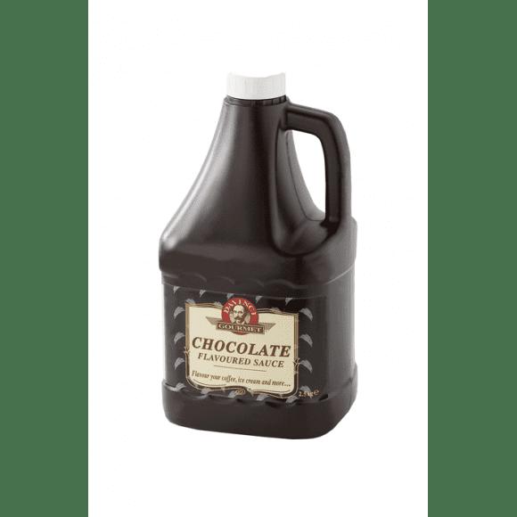 Da Vinci Lot de 6 sauces Chocolat noir bidon 2.5kg