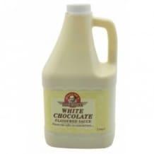 Lot de 6 sauces Chocolat blanc bidon 2.5kg