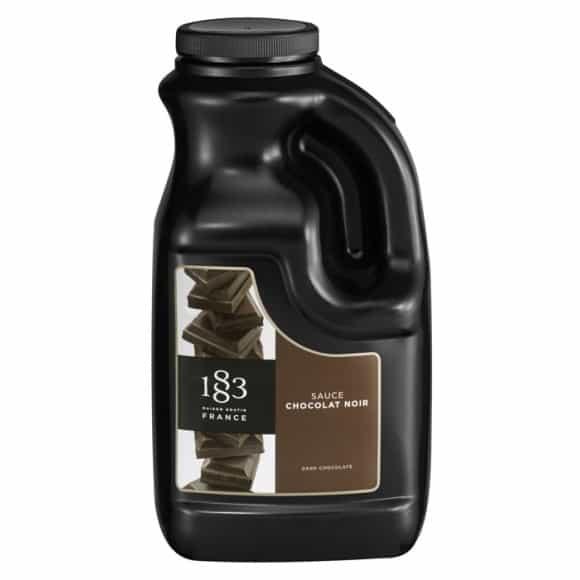 Lot de 2 sauces Chocolat noir bidon 1.89L