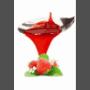 Lot de 6 sauces fraise squeeze 1kg