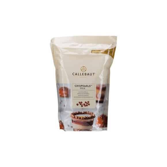 Lot de 4 Crispearls chocolat au lait sachet 800g