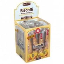 Lot de 4 présentoirs Biscotti Amandes 24 x 38g