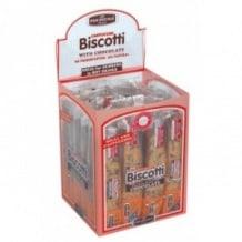 Lot de 4 présentoirs Biscotti Chocolat 24 x 38g
