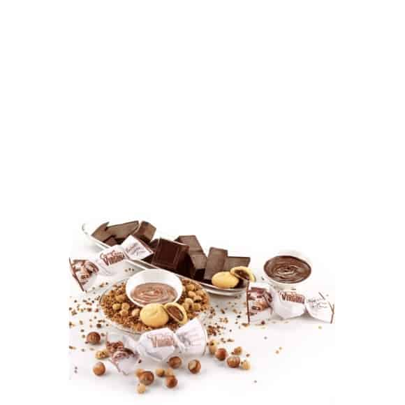 Sachet 450g Assortiment Amaretti fourre chocolat 20g
