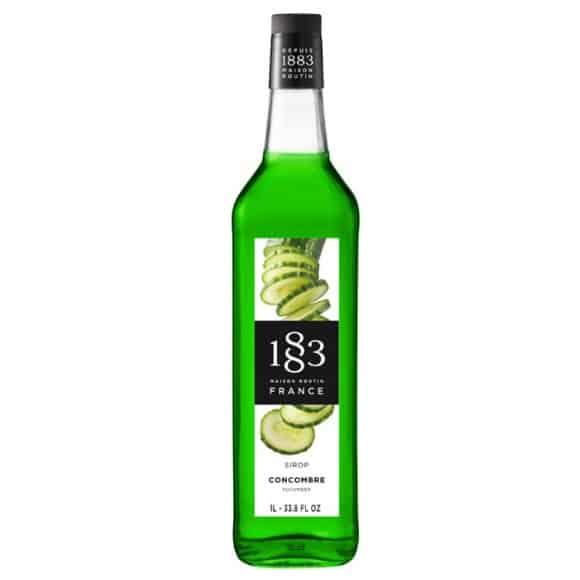 Sirop Concombre bouteille verre 1L