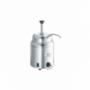 Réchauffeur de sauce 2,80L avec pompe inox