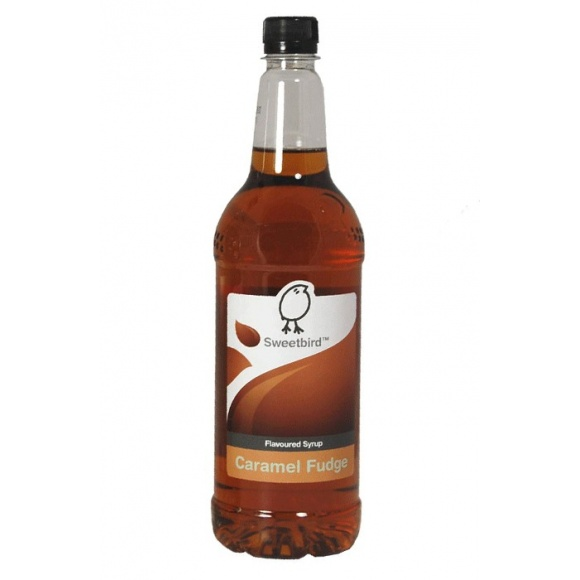 Sirop Caramel Fudge bouteille PET 1L
