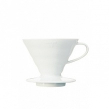 Dripper V60 Céramique blanc 1-4 tasses