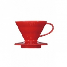 Dripper V60 Céramique rouge 1-2 tasses