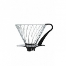 Dripper V60 Verre transparent 1-6 tasses