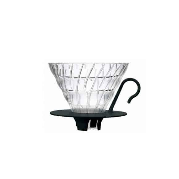 Dripper V60 Verre transparent 1-4 tasses