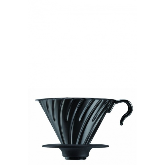 Dripper V60 Métal couleur noir 1-4 tasses