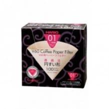 Boîte x 100 filtres papier naturel 1-2 tasses