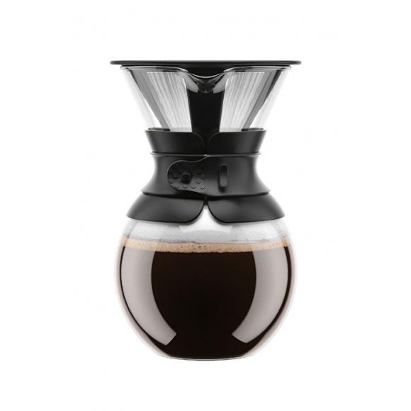 Pour Over Cafetière Slow Coffee 8 Cup Noir
