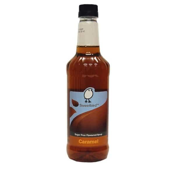 Sirop Caramel SANS SUCRES bouteille PET 1L